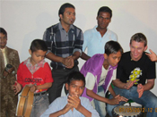 Bal Sahyog Children with Brett Lee at Jasola Vihar Delhi
